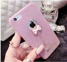 Luxury Bling Glitter Soft Crystal TPU Phone Case Cover For Apple iPhone 5 6 Plus