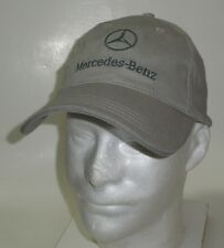 NWOT / MERCEDES-BENZ /  BALL CAP / Buckle / Gray - NEW!! Automobile Auto Cars