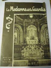 LA MADONNA DELLA GUARDIA N° 7 1953 - MONTE FIGOGNA - GENOVA -  L-6