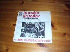 LA PARTIE DE CARTES DE MARCEL PAGNOL - 45 TOURS
