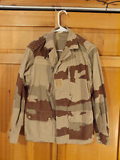 Early French Army CCE F1 Desert Camo Jacket, Size Medium