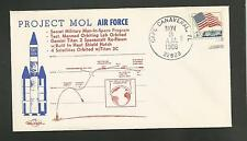 PROJECT MOL AIR FORCE SECRET MILITARY MAN IN SPACE NOV 3,1966 CAPE  ORBIT COVERS