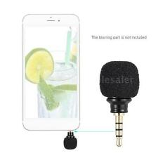 3.5MM Omni-Directional Microphone For iPhone SAMSUNG Smartphone Recording I0W0