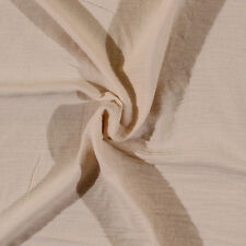 Cotton Gauze Tan Cream Natural Fabric by the Yard D161.04