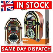 Retro Jukebox with AM FM radio and CD-player Mini Jukebox MP3 Speaker System AUX
