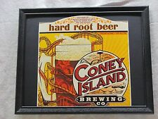 CONEY ISLAND HARD ROOT BEER  BEER SIGN  #1260