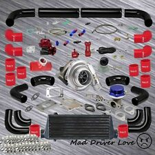 UNIVERSAL T3/T4 TURBO CHARGER INTERCOOLER PIPING KIT FAST SPOOL LOW RPM TORQUE