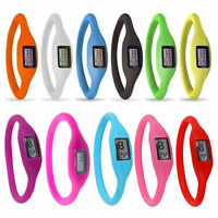 New Fashion Silicone Rubber Sports Jelly Wristwatch
