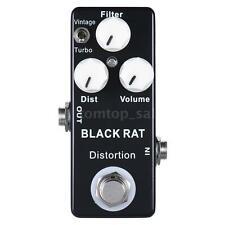 Mini Distortion Guitar Effect Pedal True Bypass Zinc-aluminium Alloy Body F3I3