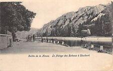 BR42490 Vallee de la Meuse le halage des bafeaux a Waulsort france