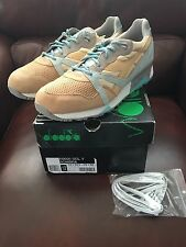 Diadora X 24 Kilates N9000 Sol Golden Straw Made In Italy New/DS Sz.12.5