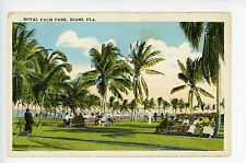 Royal Palm Park RARE Antique MIAMI BEACH Ocean Drive SOUTH BEACH Bicycles 1910s