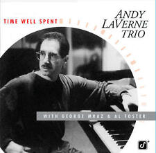 Andy Laverne Trio - Time Well Spent CD REISSUE NEW w/ George Mraz & Al Foster