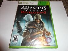 Assassin's Creed Revelations  (Xbox 360, 2011) NEW
