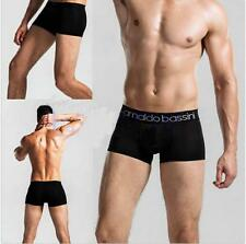 Trunks Sexy Underwear Men Boxer Briefs Shorts Bulge soft Underpants New @