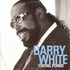 CD single Barry WHITE Staying power CARD SLEEVE 2 track