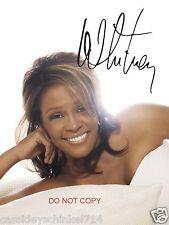 """Whitney Houston legendary singer Reprint Signed 8x10"""" Photo RP #2"""