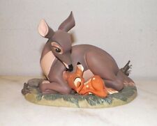 WDCC WALT DISNEY CLASSIC COLLECTION BAMBI & MOTHER EVENT SCULPTURE FIGURINE BOX
