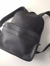 Coach Men's Midnight Pebble Leather Hamilton Backpack 72082 F72082 NWT $595