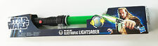 Star Wars Froce Electronic Lightsaber Retractable Qui Con Jinn Age 4+ Hasbro Toy