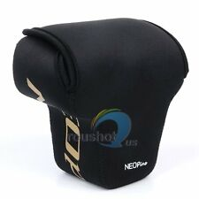 Black NEOpine Neoprene Soft Camera Protector Case Cover Bag For Nikon P900s P900