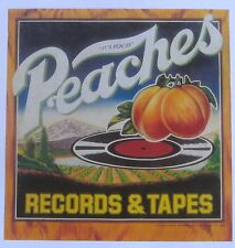 PEACHES RECORDS & TAPES CRATE LOGOS x 2