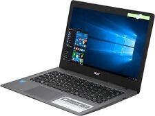 "Acer Cloudbook 14""HD Intel DualCore N3050 2.16GHz 2GBRAM 32GBHDD HDMI Win10 NewO"
