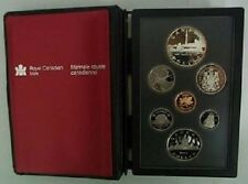 1984 PROOF DOUBLE DOLLAR SET - CANADIAN 7-COIN SET - CASE & CERTIFICATE