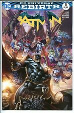 BATMAN REBIRTH #1 AMAZING CON VEGAS COLOR VARIANT HARLEY QUINN TAN DC 2016 NM