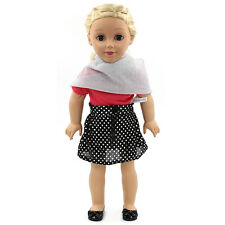 "Fits 18"" American Girl Madame Alexander Handmade Doll Clothes dress MG177"