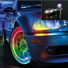 2PCS Bike Car Motorcycle Tyre Tire Valve Caps LED Wheel Lights Newly Popular