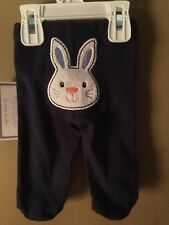 Boy's Newborn Happy Easter pants Bunny on Tush NEW NWT SO CUTE!