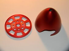 "Spinner 3""(76mm) Red Color Anodized Drilled For DLE 30/55 MLD 35/70 EME 35/55"