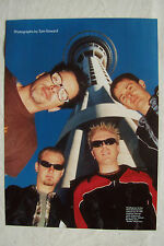 THE OFFSPRING - 1999 Magazine Poster