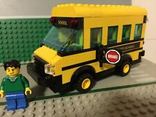 Custom Lego yellow School Bus! Loaded with detail - City/ Modular