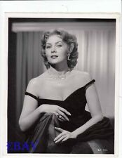 Rhonda Fleming busty sexy VINTAGE Photo