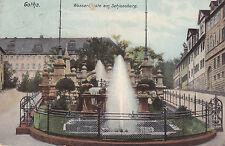 AK Gotha 1911 Wasserkünste am Schloßberg