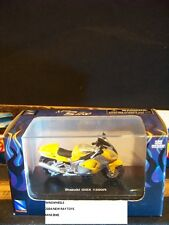 NEW RAY 2004 MINI BIKE SUZUKI GSX 1300R YELLOW