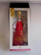 Barbie Doll Pink Label PRINCESS OF IMPERIAL RUSSIA Dolls of the World Stand Box