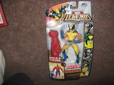 Marvel Legends 2007 Yellow Wolverine Build a figure Red Hulk Series