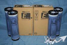 4 Genuine Riso S-7196 Blue Ink Risograph EZ590 MZ790 RZ990 RZ1090 E S-4257 RZ