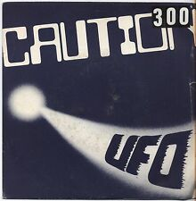 "CAUTION - Ufo - VINYL 7"" 45 ITALY 1981 VG+ COVER VG- CONDITION"