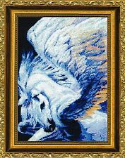 Kustom Krafts WINGS Cross Stitch Chart/Booklet by Dyan Allaire ~ fantasy horse