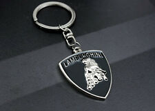 Stylish car logo key chain single hollow out, is suitable for lamborghini