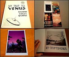 RARE OCCULT SCI-FI Private 1968 BOOK My Trip to Venus REV VIOLET GILBERT+4BOOKS+