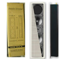 NEW - Definitive Technology UIW RLS II In-Wall Ref Speaker Single