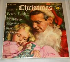 Percy Faith And His Orchestra - Music Of Christmas (1954 Columbia) Used Vinyl LP