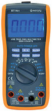 MERCURY TRUE RMS MULTITESTER digitale con interfaccia USB