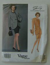 Vogue Sewing Pattern 2934 Designer Genny 12 14 16 Vintage Petite Jacket Skirt