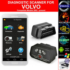 FOR VOLVO OBD II 2 CAR AUTO DIAGNOSTIC CODE SCANNER SCAN TOOL WITH POWER SWITCH